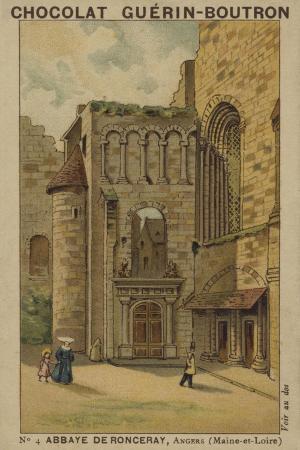 Abbaye De Ronceray, Angers, Maine-Et-Loire