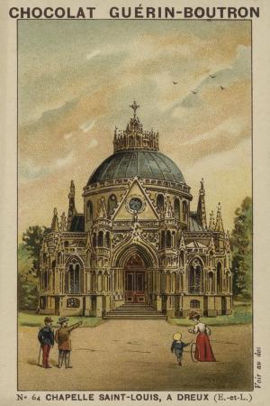 Chapelle Saint-Louis, a Dreux, Eure-Et-Loir