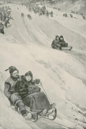 A Tobogganing-Slope in Canada