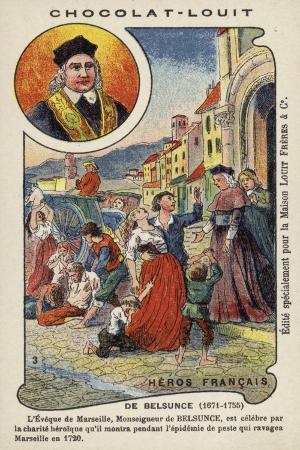 Monsignor De Belsunce, Bishop of Marseilles