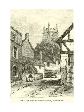 Entrance into Market Drayton, Shropshire