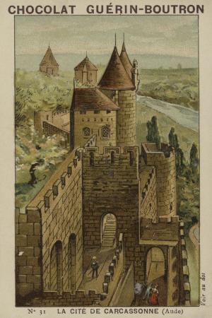 La Cite De Carcassonne, Aude