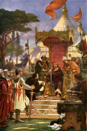 King John Signs Magna Carta, 15 June 1215