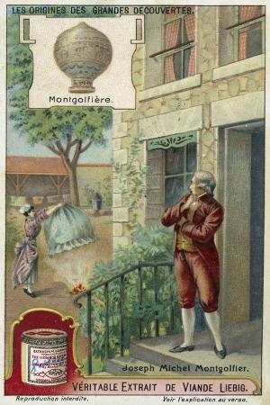 Joseph Montgolfier and the Hot Air Balloon