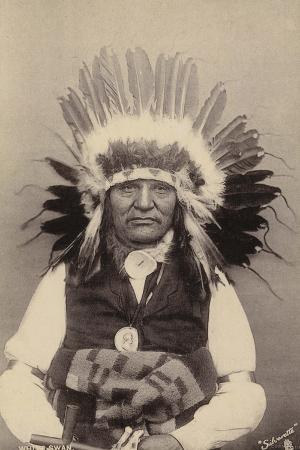 White Swan, Member of the Yankton Tribe of Sioux