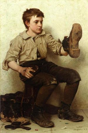 The Boot Boy, C.1885-90