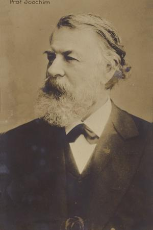 Portrait of Joseph Joachim
