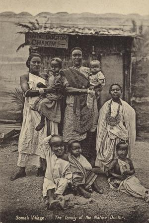 Somali Village - the Family of the Native Doctor