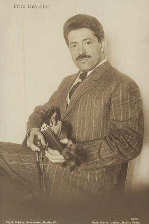 Portrait of Fritz Kreisler