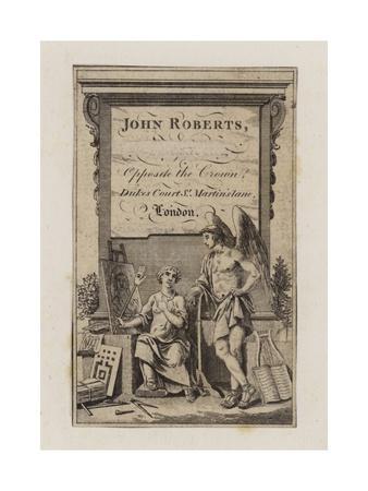 John Roberts, Trade Card