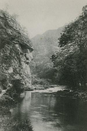 Lion's Face Rock, Dovedale