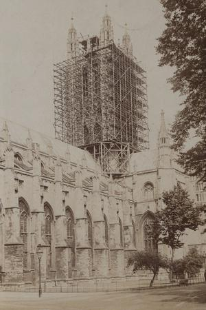 Canterbury Cathedral, Undergoing Repairs