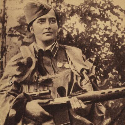 Junior Lieutenant Lyudmila Pavlichenko