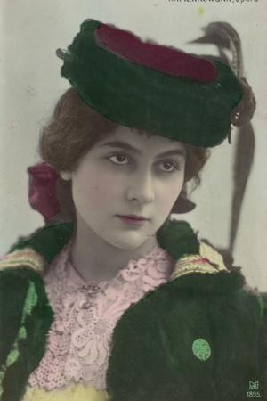 Stacia Napierkowska, French Dancer and Actress
