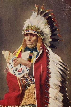 Tall Man Dan, Sioux