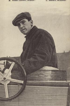 Hubert Latham, French Aviation Pioneer