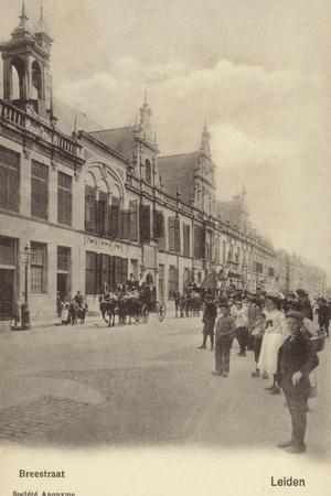 Postcard Depicting Breestraat