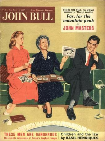 Front Cover of 'John Bull', March 1957
