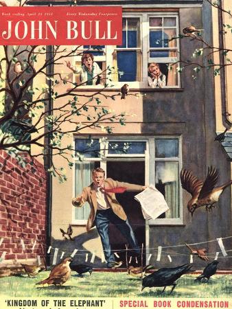 Front Cover of 'John Bull', April 1955