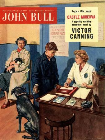 Front Cover of 'John Bull', October 1954