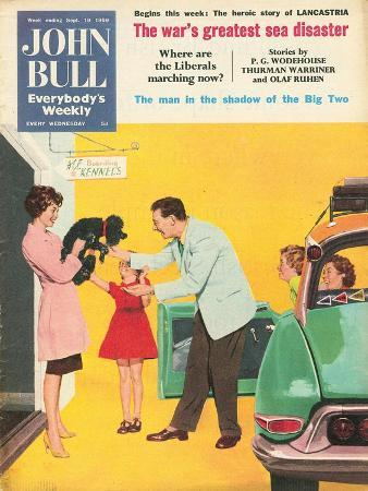 Front Cover of 'John Bull', September 1959
