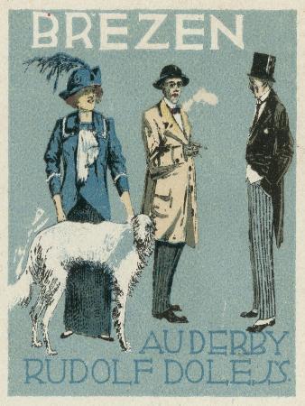 March. Au Derby Rudolf Dole Fashions, Prague