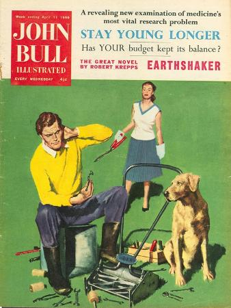 Front Cover of 'John Bull', February 1959