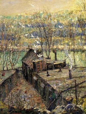 The Pigeon Coop, C.1916