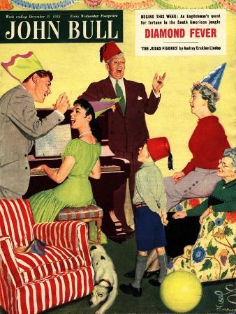Front Cover of 'John Bull', 31st December 1955