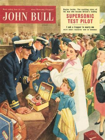 Front Cover of 'John Bull', September 1955