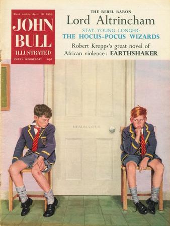 Front Cover of 'John Bull', April 1959
