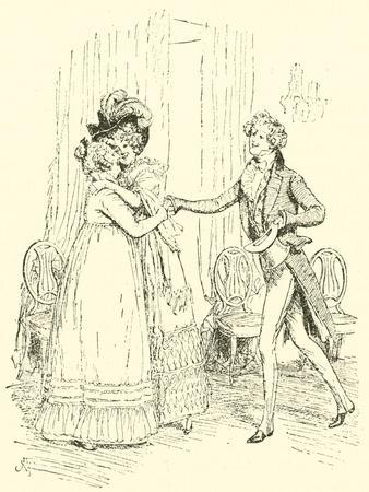 Mrs Bennet Welcomes Lydia and Her Husband