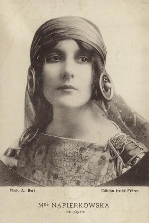 Portrait of Stacia Napierkowska