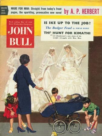 Front Cover of 'John Bull', May 1958