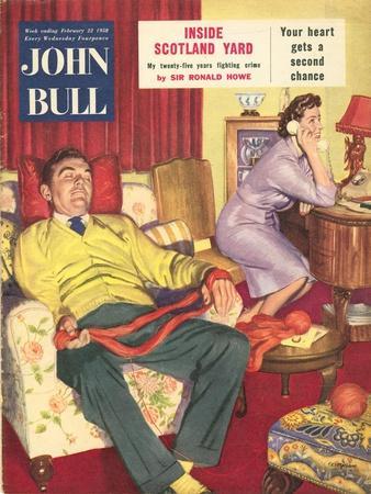 Front Cover of 'John Bull', 1958