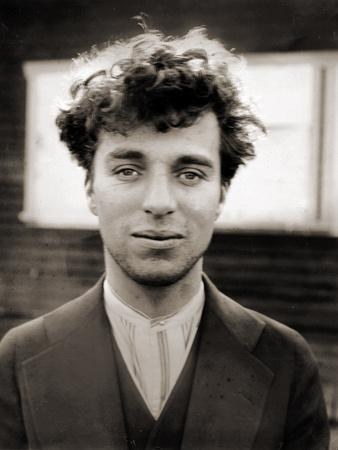 Portrait of Charlie Chaplin Aged 27, 1916
