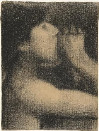 Echo, Study for ' Bathers at Asnieres', 1883-4