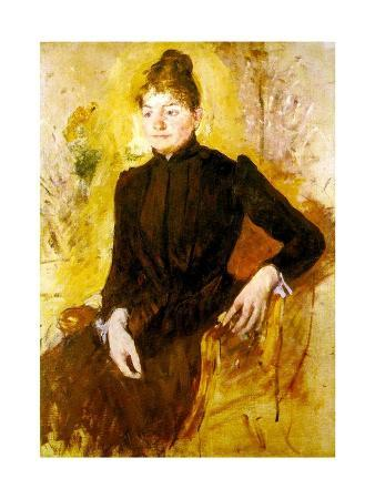 Young Woman in Black, C.1882