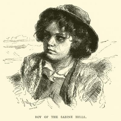 Boy of the Sabine Hills