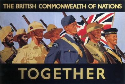 Together', 2nd World War Recruitment Poster