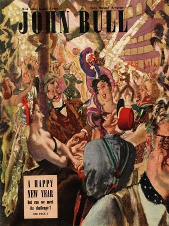Front Cover of 'John Bull', January 1948