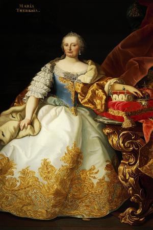 Portrait of Maria Theresa of Austria