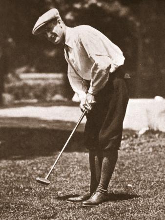 Jerome D. Travers, Champion Golfer, 1910S