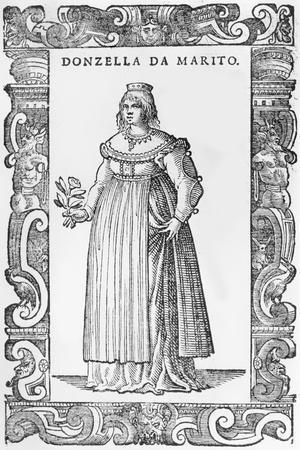 Donzella De Marito, 1590