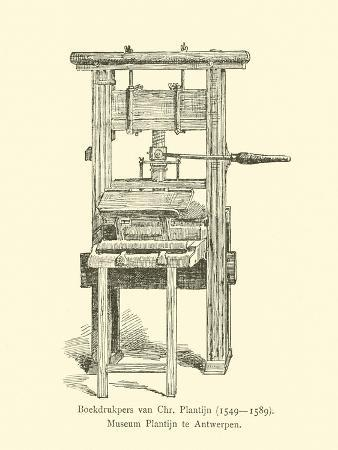 Printing Press of Christophe Plantin