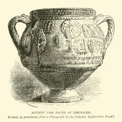 Ancient Vase Found at Jerusalem