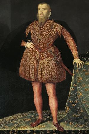 Portrait of Erik XIV of Sweden