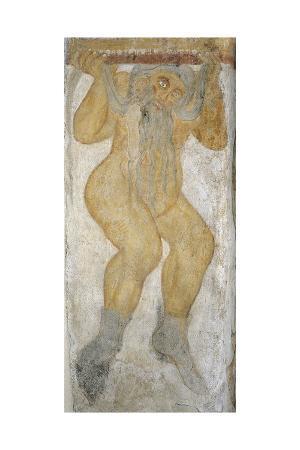 Naked Telamon, Fresco, San Giacomo
