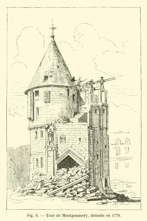 Tour De Montgommery, Demolie En 1778