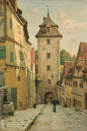 Rothenburg Ob Der Tauber, Bavaria, Germany, 1903